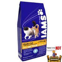IamsMulti-Cat — сбалансированный корм для содержания нескольких кошек