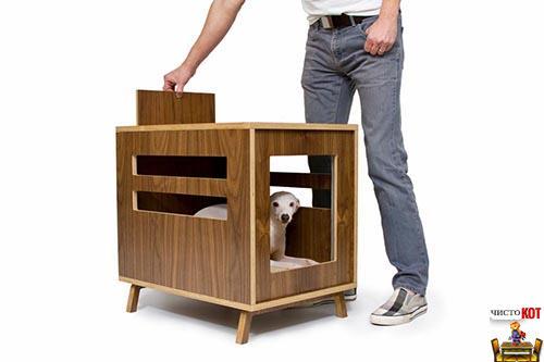 Интересные самодельные домики для собак от Dwell Crate