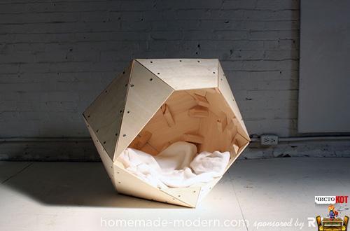 Интересные самодельные домики для собак от HomeMade Modern