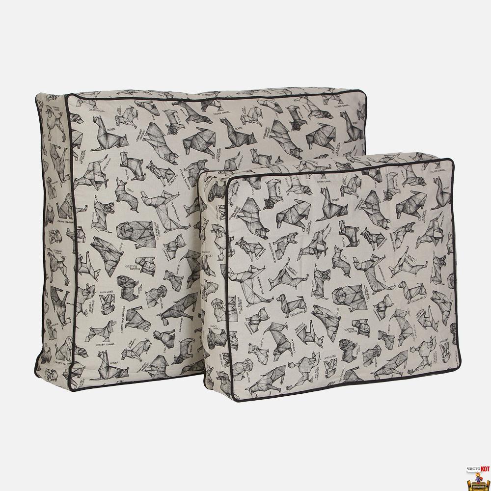 Лежак для крупных пород собак Origami Bed