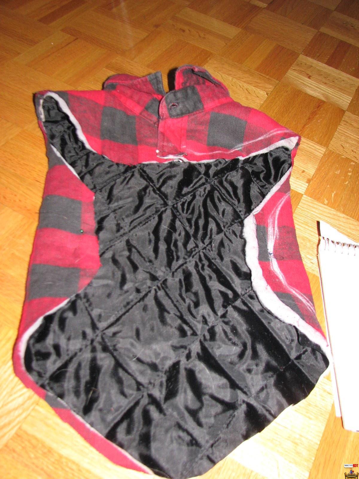 Мастер-класс: женский утепленный жилет Шкатулка 96