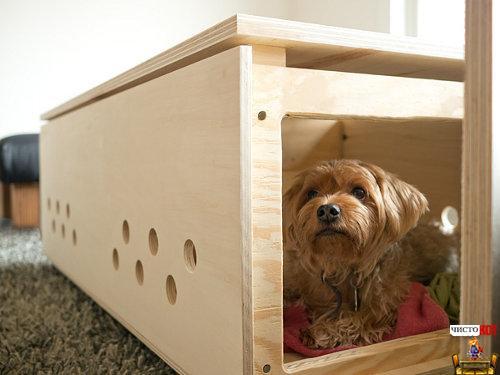 Интересные самодельные домики для собак - DOG-I-Y