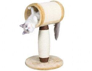 Когтеточка для кошки: как сделать самостоятельно и приучить кошку к ней?