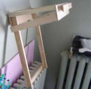 Самодельный гамак для кота